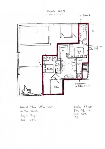 pagham proposed floorplan