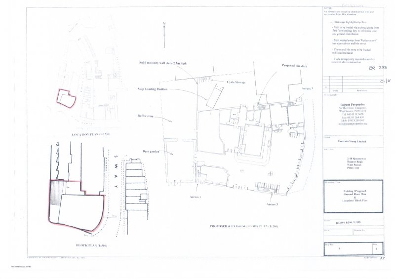 location  block plans approved