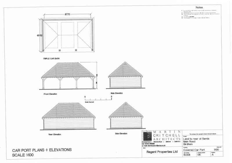 car port plans and elevations