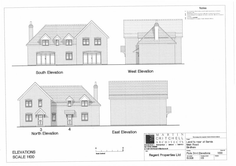 plots 3 and 4 elevations