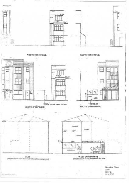 elevations plan